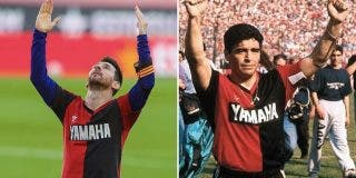 Ratifican la sanción contra Lionel Messi por su homenaje a Diego Maradona