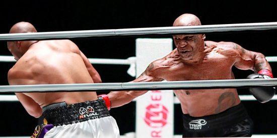 El veterano Mike Tyson ganó 10 millones de dólares en su combate con Roy Jones Jr