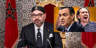 Sánchez 'baja del avión' a Iglesias y no lo lleva a la cumbre de Marruecos, para no molestar al rey Mohamed VI