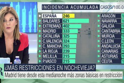 La hipocresía de Palomera: así 'vende' desde la tele que deberíamos estar todos en casa y muertos de pánico