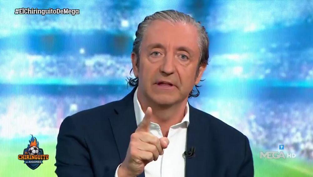 """Pedrerol echa a D'Alessandro del plató por llamar """"gordi"""" a Hazard"""