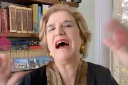 """Pilar Rahola insulta a Verónica Forqué por atreverse a criticar el catalán: """"¡Estúpida ignorante!"""""""