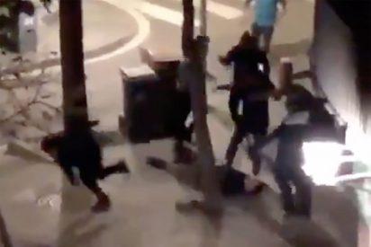 Barcelona Ciudad sin Ley: paliza con barras de hierro de una banda de pakistaníes a un filipino