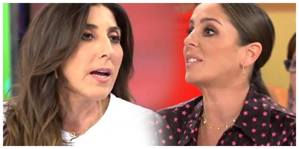 Paz Padilla se merienda a Anabel Pantoja en 'Sálvame' por volver a aparecer borracha