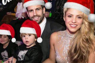 Shakira sale de plano y usa su conejo para felicitar a todos la Navidad