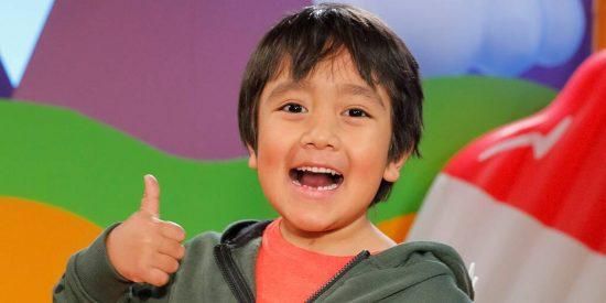 El niño Ryan Kaji, la estrella de YouTube que más dinero gana