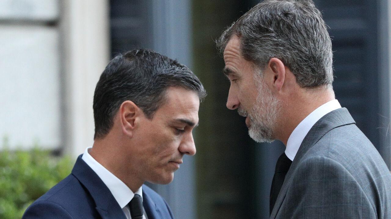 """Inda: """"Felipe VI está hasta donde la barriga pierde su casto nombre de gentuza"""" como Sánchez"""