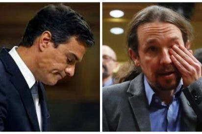 Efectos de tener a Sánchez y a su secuaz Iglesias en Moncloa: España cae 6 puestos en el índice de democracias