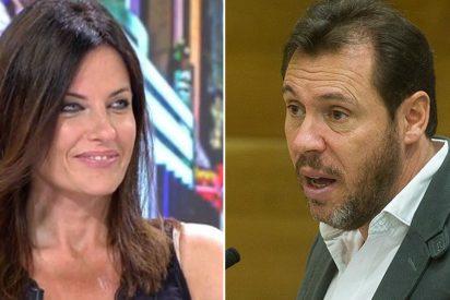 """Cristina Seguí se venga de Óscar Puente: """"Si le invitas a tu boda se lleva el táper con las gambas"""""""