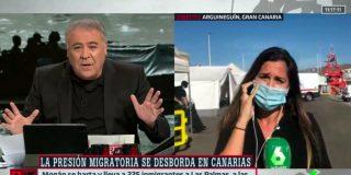 Así ocultan los palmeros de Moncloa la farsa humanitaria de la Cruz Roja en Canarias