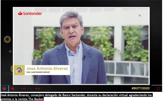 Banco Santander Jose Antonio ALvarez