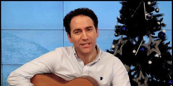 Teodoro García Egea, secretario general del PP, la lía con un villancico de Navidad