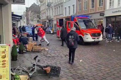 Un atropello masivo en Alemania deja, al menos, 5 muertos incluido un bebé