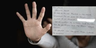 """La mujer pide auxilio con notas por la ventana: """"No llamen el timbre, me da miedo"""""""