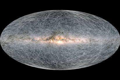 El nuevo mapa de la Vía Láctea revela que el Planeta Tierra acelera y se acerca a un agujero negro