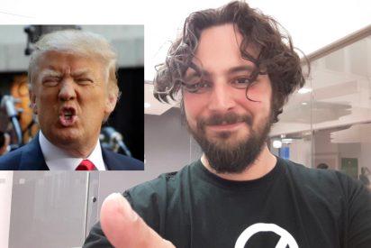 Victor Gevers, el hacker que adivinó la contraseña en Twitter de Trump, ni será sancionado