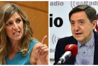 """Losantos: """"Yolanda Díaz es una gentuza por decir a las empresas que devuelvan el dinero de los ERTE"""""""