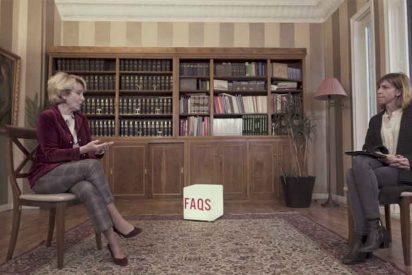 """Esperanza Aguirre inflama TV3 al condenar a los golpistas: """"Si un violador dice que volverá a violar, es difícil que le indulten"""""""