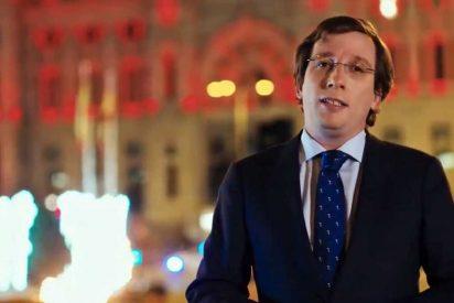 Almeida dirige un mensaje de esperanza de un futuro mejor en su felicitación navideña a los madrileños