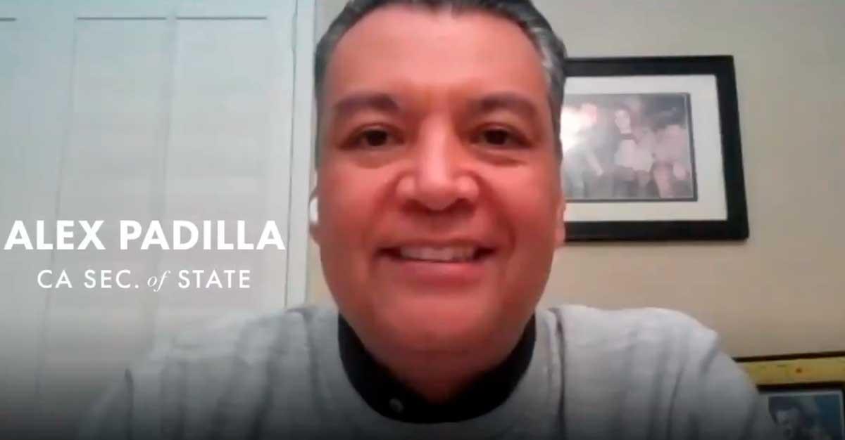 Alex Padilla, primer latino en representar a California como senador de Estados Unidos