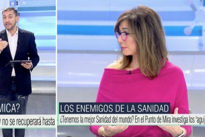 """El repentino ataque de Javier Ruiz que alarma a Ana Rosa: """"¿Qué fiebre has dado al entrar?"""""""