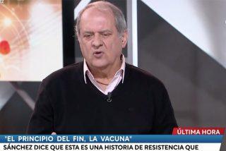 El tertuliano fetiche de Cintora que pontifica e insulta a los españoles desde TVE y cargado de soberbia
