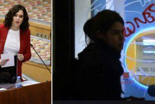 """Ayuso retrata a Podemos: """"Pasan de reventar cajeros a tener como líder a un atracador de bancos"""""""