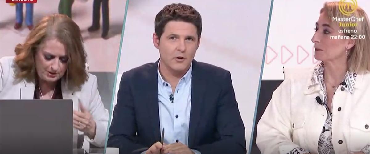 """Máxima tensión y mucho bochorno en TVE con Cintora como juez y parte: """"¡No te rías de los muertos!"""""""