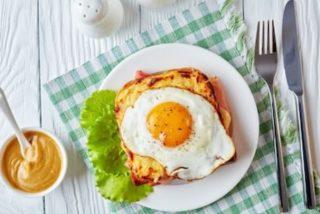 Sándwich Croque Madame