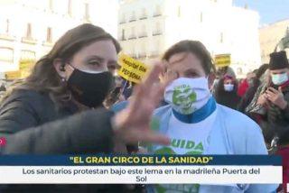 La izquierda monta el circo para protestar contra el hospital de Ayuso y TVE les da la máxima cobertura posible
