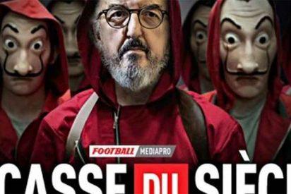 """""""El atraco del siglo"""": el prestigioso diario francés L'Equipe tacha a Jaume Roures de ladrón"""