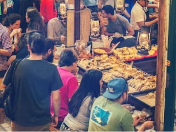 Empanadas argentinas o criollas calles de Argentina