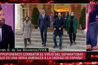 Espinosa de los Monteros (VOX) silencia a Fortes por sus babosos halagos a Rodríguez Zapatero