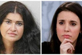 Lucía Etxebarria pone en su sitio a Irene Montero por alentar desde el Gobierno escraches contra ella
