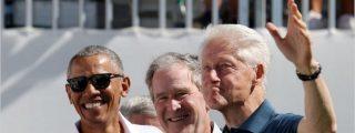 Los expresidentes Clinton, Bush y Obama se ofrecen voluntarios para vacunarse en público contra el COVID