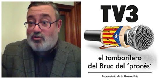 """Sergio Fidalgo: """"TV3 es la muestra de cómo crear una generación de separatistas con ingeniería social"""""""