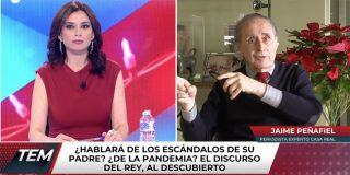 "Jaime Peñafiel: ""Carmen Calvo, que fue quien echó a don Juan Carlos, va a corregir el discurso del Rey"""