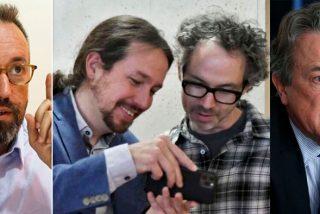 """El 'pianista de Sánchez', que llamó """"fascistas borrachos"""" a Tertsch y Girauta, se hace la víctima y les demanda"""