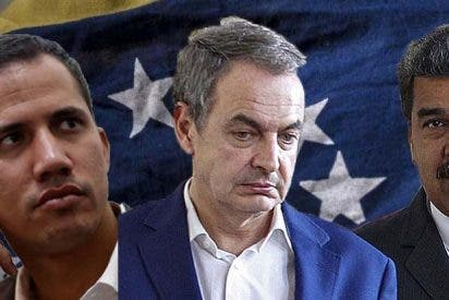 "Guaidó a Zapatero: ""No es tolerable su apoyo al chavismo ni ocultarse tras camisas del Che"""