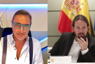 """""""Iglesias es un fascista matón"""", la frase a la que Moncloa se agarra para 'multar' a Carlos Herrera"""
