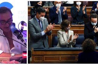 """Carlos Herrera: """"Toda la escoria de la Cámara le ha dado una moción de confianza a Pedro Sánchez"""""""