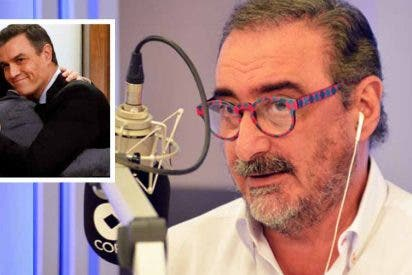 """Herrera: """"Sánchez quiere ser presidente de la república y utiliza a Juan Carlos de ariete... ¡es indecente!"""""""
