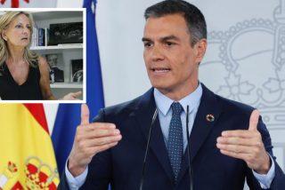 """Isabel San Sebastián 'presenta' el nuevo sermón de Sánchez: """"Regresa el trolero, el mayor embustero, el traidor"""""""