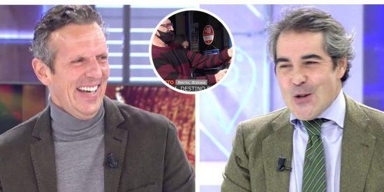 """García Juez se chotea de Prat por los festejos del 'Gordo': """"¿No les dices nada por bajarse la mascarilla?"""""""