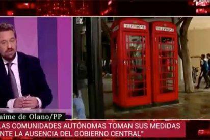 """El 'Lechero' Fortes se lleva el zasca del año por decir en TVE que Gibraltar es una colonia británica """"para los del PP"""""""
