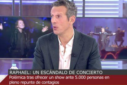 """Prat, ofuscado por el concierto de Raphael: """"Yo intentando excluir a gente de Nochebuena y..."""""""
