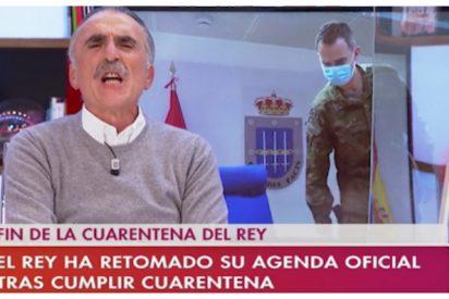 """Juan y Medio pierde los papeles y asusta a todos en Canal Sur: """"¡Por la República!"""""""