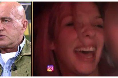 La hija de Guti, insultada y desenmascarada en 'Sálvame' por su fiesta ilegal