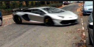 """Un """"Lamborghini"""" protagoniza una fuga de película"""