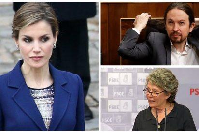 La Reina Letizia pilla un real cabreo con el inmundo vídeo de Podemos y con TVE por darle aire